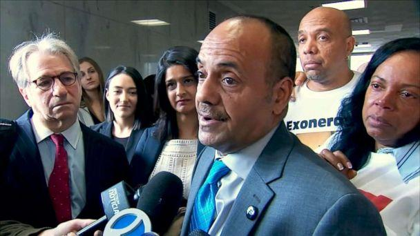 PHOTO: Rafael Ruiz talks to reporters after appearing in court in New York, Jan. 28, 2020. (WABC)