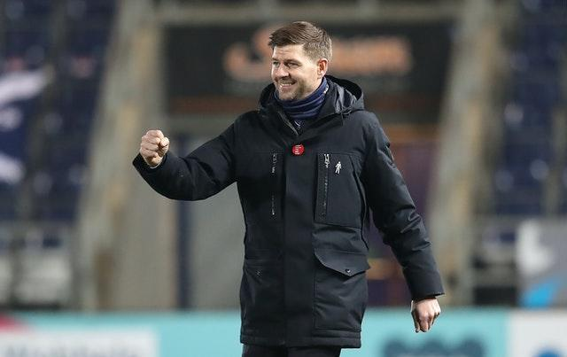 Steven Gerrard has led Rangers to the top of the Scottish Premiership