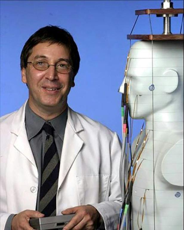 David Brenner, director of the Center for Radiological Research at Columbia University in New York, is seen in an undated photo provided by the university's medical center (AFP Photo/-)