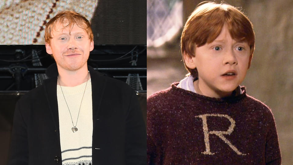 Rupert Grint says he'd be open to a 'Harry Potter' return. (Credit: Jun Sato/WireImage/Warner Bros)