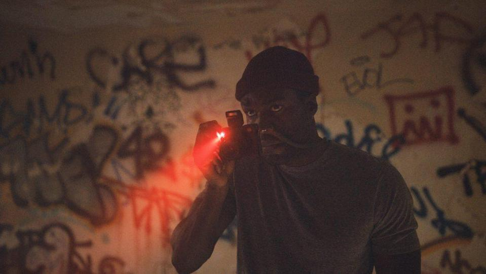 Yahya Abdul-Mateen II as Anthony McCoy in Candyman, directed by Nia DaCosta. - Credit: Universal Pictures and MGM Pictu