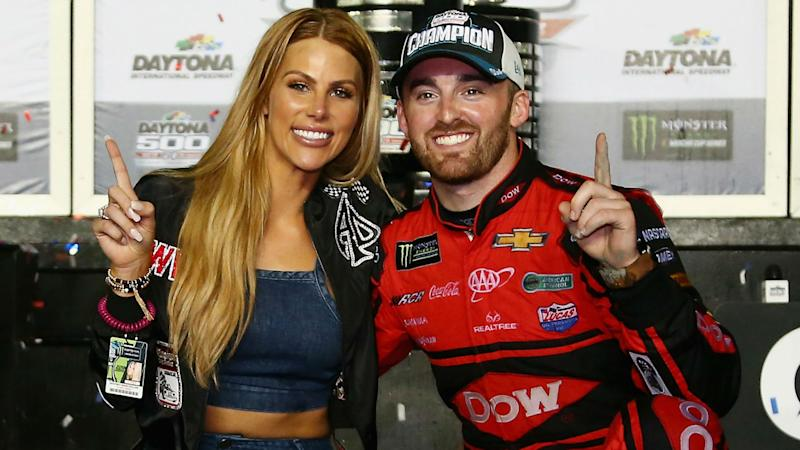 Daytona 500: Only Austin Dillon's wife will be able to see strategically placed celebratory tattoo