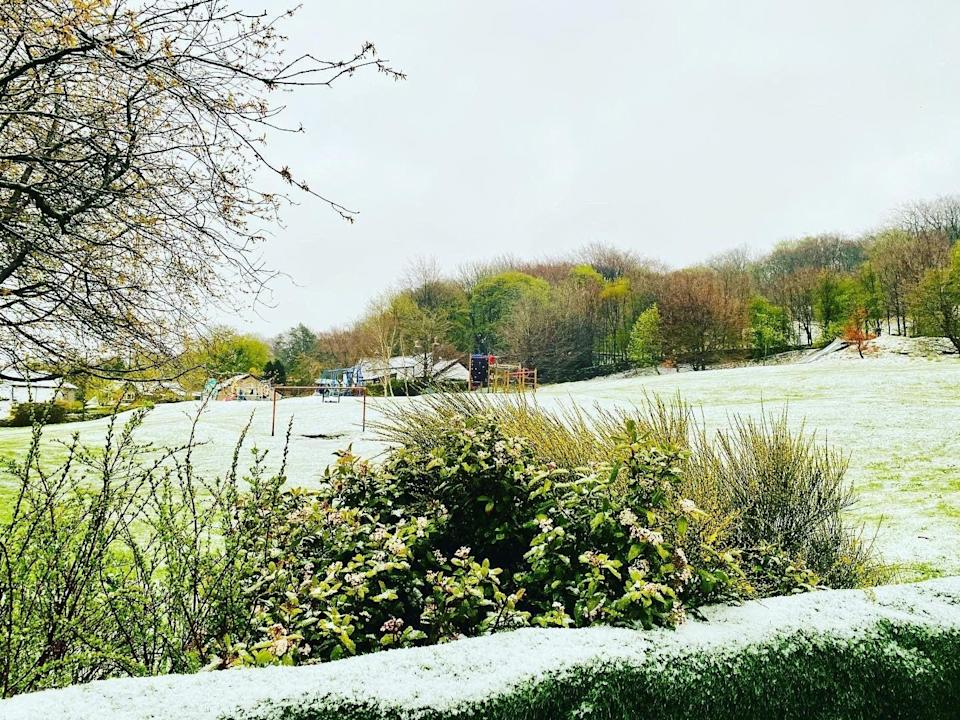 <p>Unusual May weather was seen across the north of the UK</p> (PA)