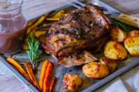 """<p>It doesn't get easier than this. This lamb is tender, juicy and full of flavour and it tastes great along with some fresh vegetables, crispy potatoes and a fruity red wine gravy to make the perfect Sunday roast.</p><p>Get the <a href=""""https://www.slowcookerclub.com/slow-cooker-lamb-shoulder/"""" rel=""""nofollow noopener"""" target=""""_blank"""" data-ylk=""""slk:Slow Cooker Lamb Shoulder"""" class=""""link rapid-noclick-resp"""">Slow Cooker Lamb Shoulder</a> recipe.</p><p>Recipe from <a href=""""https://www.slowcookerclub.com/"""" rel=""""nofollow noopener"""" target=""""_blank"""" data-ylk=""""slk:Slow Cooker Club"""" class=""""link rapid-noclick-resp"""">Slow Cooker Club</a>.</p>"""