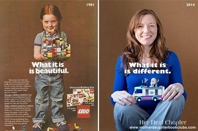Something changed with Lego toys.