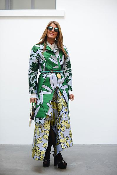 <p>Clashing prints always means the warmer weather is upon us. Mix and match your fave two items for a fresh new outfit.  <i>[Photo: Vanni Bassetti/Getty Images]</i></p>