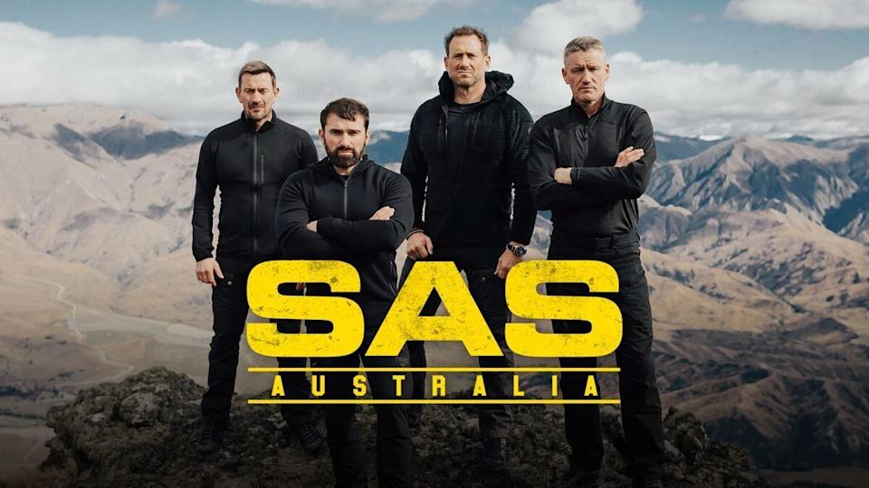 SAS Australia's ex-Special Forces soldiers  Ollie Ollerton, Ant Middleton, Jason 'Foxy' Fox and Mark 'Billy' Billingham  (Photo: Channel 7)