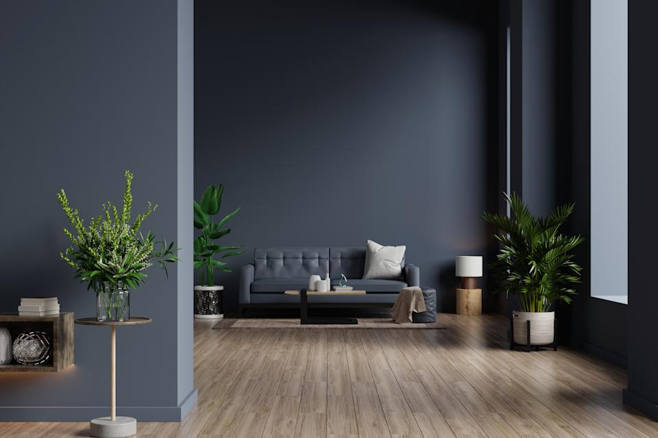 Dark walls can be surprisingly soothing and calming (Getty Images)