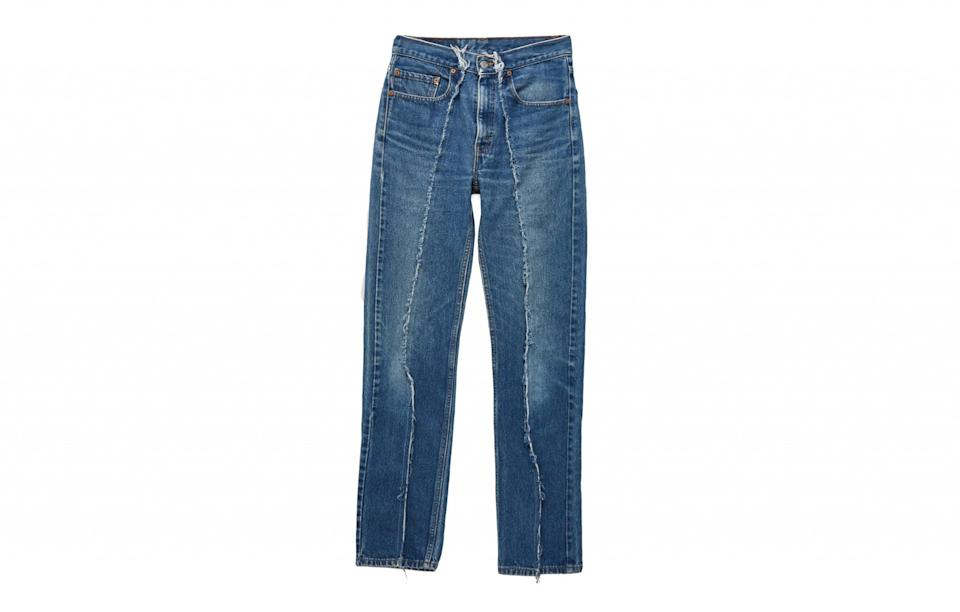"""<p><a rel=""""nofollow noopener"""" href=""""https://www.urbanoutfitters.com/en-gb/shop/urban-renewal-vintage-re-made-seam-detail-jeans1?category=SEARCHRESULTS&color=092"""" target=""""_blank"""" data-ylk=""""slk:Urban Outfitters, £30"""" class=""""link rapid-noclick-resp"""">Urban Outfitters, £30</a> </p>"""