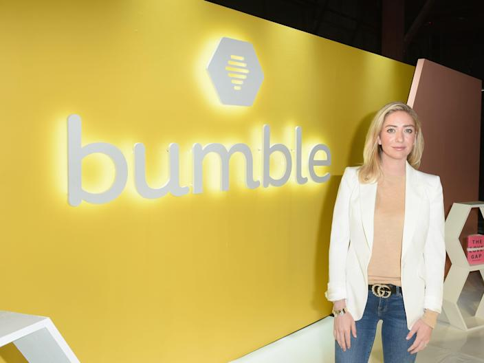 "Bumble CEO Whitney Wolfe Herd. <p class=""copyright"">Getty/Vivien Killilea</p>"