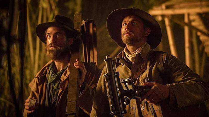 Robert Pattison and Charlie Hunnam in Lost City of Z