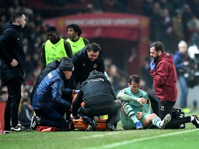 Manchester United vs Arsenal: Gunners braced for 'worst news' over Rob Holding injury
