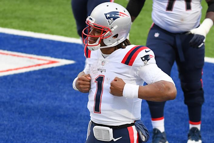 Therer are viable reasons Cam Newton struggled for the Patriots in 2020. But now he's heading into a decisive season. (Rich Barnes-USA TODAY Sports)