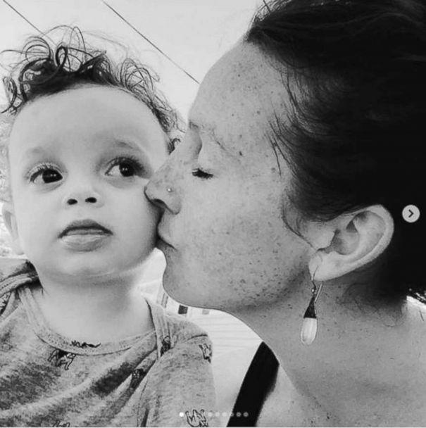 PHOTO: Madelyn Ellen Linsenmeir, who suffered from drug addicition, shown with her son Ayden, who was born in 2014. (Courtesy Kate O'Neill)