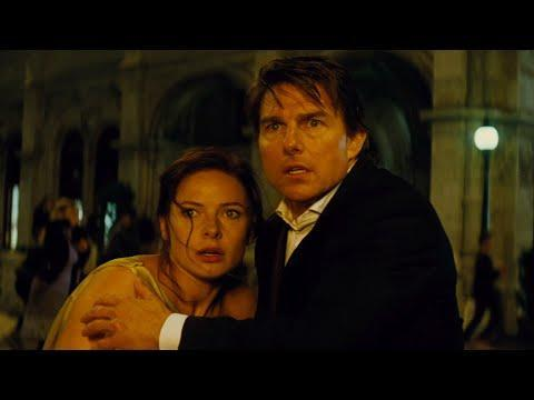 """<p>Okay, this is where this list really starts to get into Sophie's Choice territory. From here on, all of these movies could be number one. But we're gonna go with our gut. So…<em>Rogue Nation</em>. When producer-star Cruise began the M:I series he'd always envisioned each new chapter having a different director so that each film would have its own idiosyncratic stamp. It was a great instinct, not to mention an auteur-theory idea that was more experimental than a guy like Cruise is often given credit for. But in <em>Rogue Nation</em>, the star found himself to be so simpatico with Christopher McQuarrie that the director has remained at the tiller for 2018's <em>Mission: Impossible—Fallout</em> and the currently-in-the-works <em>Mission: Impossible 7</em>. McQuarrie, who first made his name as the writer of the twisty, ur-'90s indie puzzle-box caper <em>The Usual Suspects</em>, began working with Cruise on 2008's disappointingly mediocre <em>Valkyrie</em>. And they've been almost inseparable ever since. Things get off to the races right away in <em>Rogue Nation</em> (with Cruise dangling from the side of a cargo plane as it takes off—before the opening credits even roll!). And the breakneck pace doesn't relent much afterwards. In fact, you could make a case that this is where the franchise finally found its rhythmic sweet spot. Jeremy Renner, Simon Pegg, and Ving Rhames are all given their moments in the spotlight, too. But the real draw here is the clockwork precision and giddy inventiveness of McQuarrie, whether it's in the—<em>deep breath</em>—underwater computer-lab chip exchange or the Hitchcockian Vienna opera house sequence (a sequence, by the way, that actually feels <em>operatic</em>), where we first become intrigued and enthralled by Rebecca Ferguson's Ilsa, the series' best late-stage addition. All of this, plus Alec Baldwin as the head of the CIA!</p><p><a class=""""link rapid-noclick-resp"""" href=""""https://www.amazon.com/Mission-Impossible-V-Rogue-Nation/dp/B"""