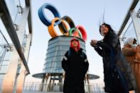 Beijing will host the Winter Olympics next February