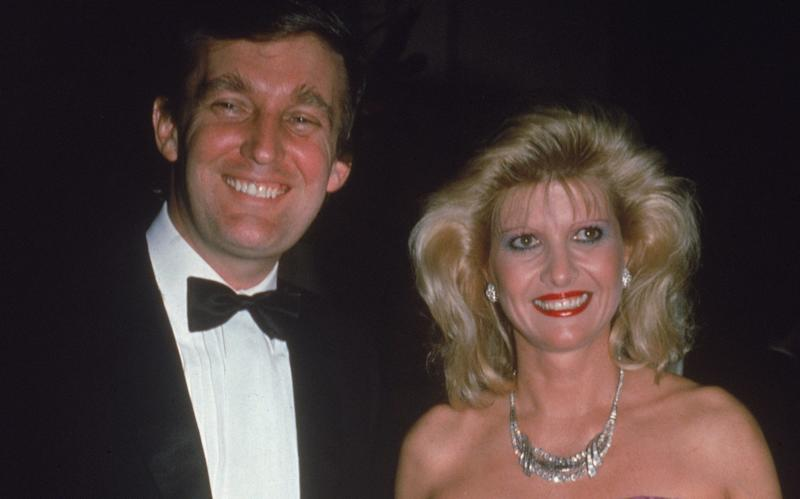 Ivana and Donald Trump, pictured in the early 1980s - 2004 Getty Images