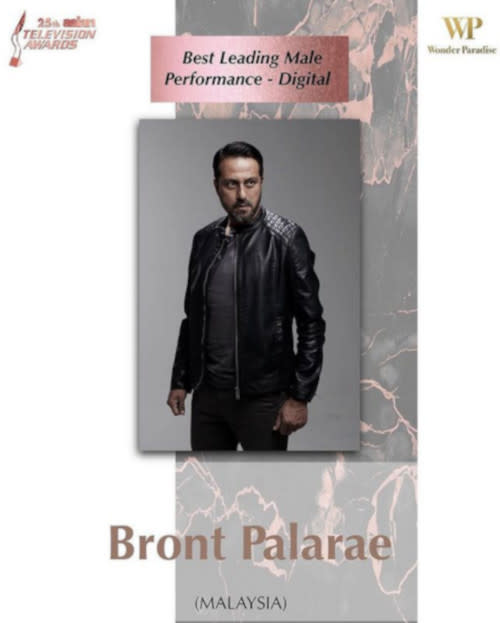 "The actor won for his performance in ""The Bridge"""