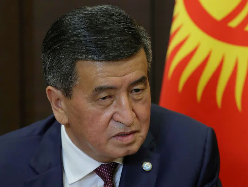 Kyrgyz president renews state of emergency in capital after unrest