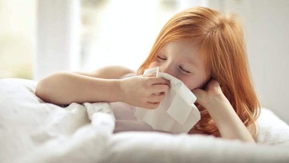 A few home remedies that can relieve cold in children