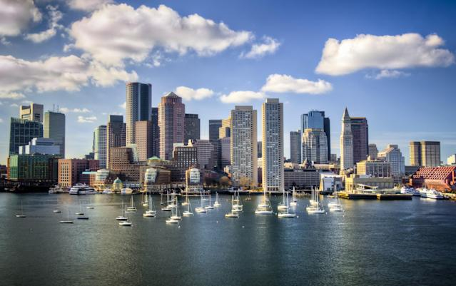 <p>No. 13 (tie): Boston, United States<br>Cost of a date: $122.50<br>(Getty) </p>