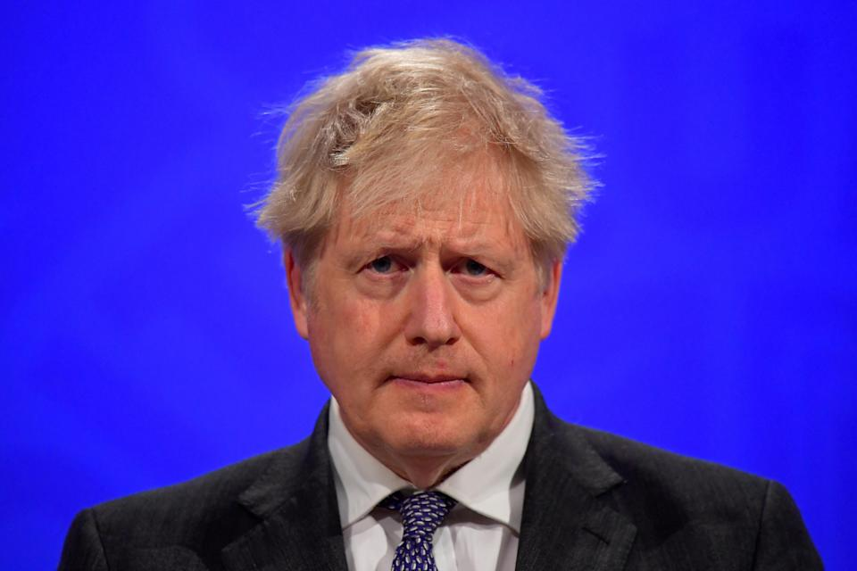 Boris Johnson insisted another referendum on independence would be 'irresponsible' (Toby Melville/PA)