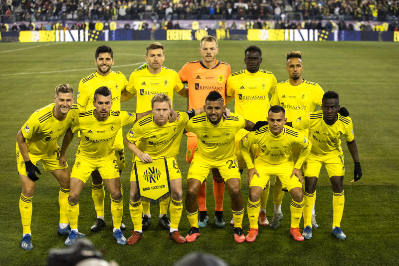 Nashville SC is the latest MLS team to have multiple positive COVID-19 tests ahead of the MLS is Back Tournament. (Photo by Brett Carlsen/Getty Images)