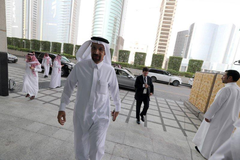 Saudi Energy Minister Khalid al-Falih arrives to attend the Saudi-US CEO Forum 2017, ahead of the arrival of the U.S. President Donald Trump, in Riyadh, Saudi Arabia May 20, 2017. REUTERS/Hamad I Mohammed