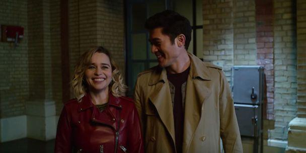 PHOTO: Emilia Clarke and Henry Golding are seen in the trailer for 'Last Christmas.' (Universal Pictures/YouTube)
