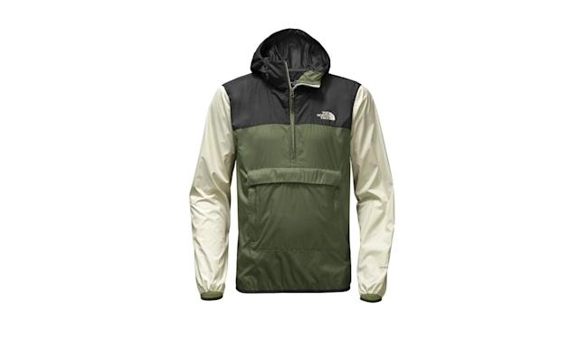 "<p>Men's Fanorak, $79, <a href=""https://www.thenorthface.com/shop/mens-jackets-vests-lifestyle/mens-fanorak-nf0a3fzl?variationId=3WQ#hero=0"" rel=""nofollow noopener"" target=""_blank"" data-ylk=""slk:thenorthface.com"" class=""link rapid-noclick-resp"">thenorthface.com</a> </p>"