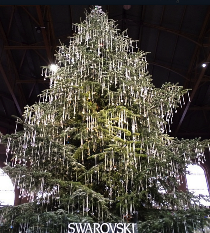 """<p>Stay warm while browsing Zurich's markets inside the main train station — they surround the famous Swarovski crystal tree. When you're ready to brave the outdoors, stroll along the Bahnhofstrasse to the market at Werdmühleplatz, where the <a href=""""http://www.singingchristmastree.ch/"""" rel=""""nofollow noopener"""" target=""""_blank"""" data-ylk=""""slk:live singing tree"""" class=""""link rapid-noclick-resp"""">live singing tree</a> is a highlight.</p>"""