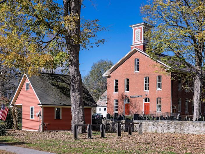 two buildings in chester vermont