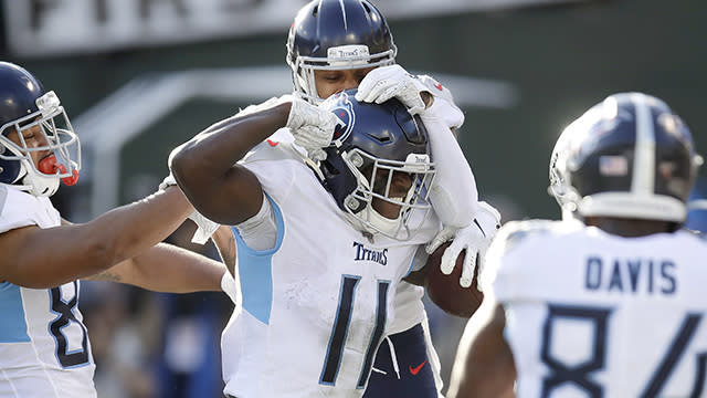 NFL Network's MJ Acosta catches up with Tennessee wide receiver A.J. Brown after the Titans' dominant win over the Oakland Raiders in Week 14.