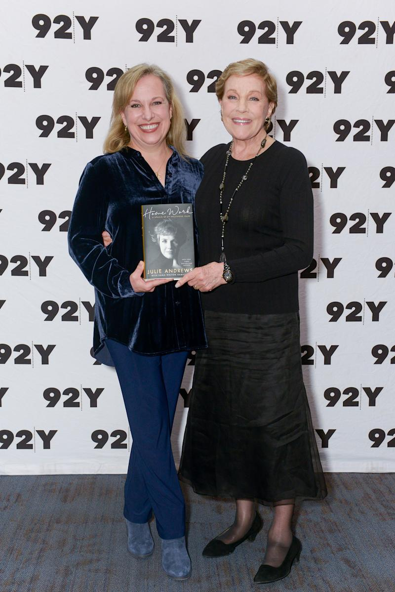 Julie Andrews and daughter Annette Insdorf