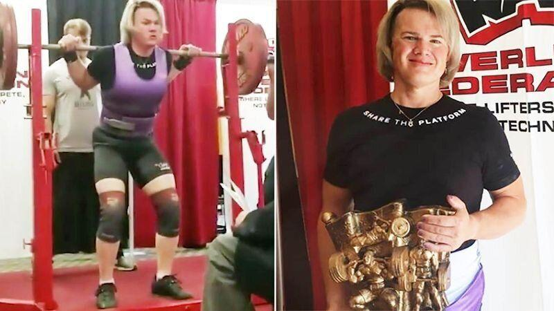 Olympians fume over transgender weightlifter's 'world records'