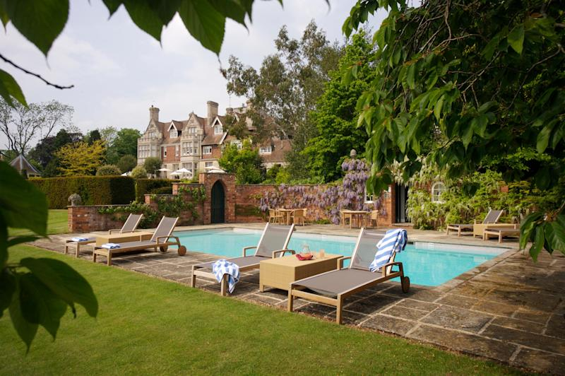 Hambleton Hall, Rutland - one of Britain's best hotels with outdoor pools