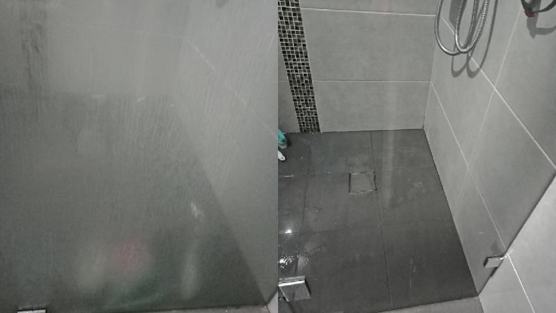 A mum's stunning shower results proved the trick goes beyond ovens. Photo: Facebook
