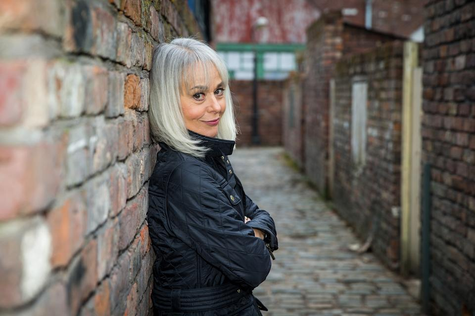 Tracie Bennett is well known for playing Sharon Gaskell in Corrie. (ITV)