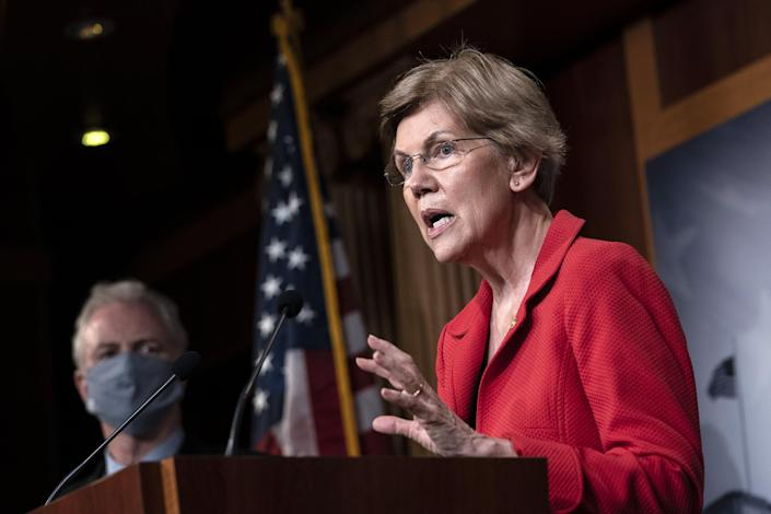 Image: Leading Senate Democrats Call For Eviction Protection In Next Coronavirus Bill (Drew Angerer / Getty Images)
