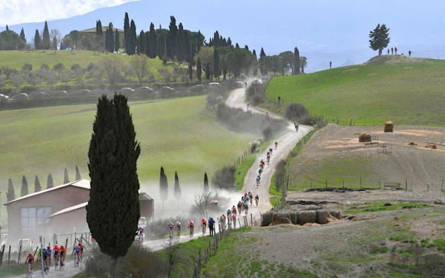 Strade Bianche 2020: live updates from Tuscany - GETTY IMAGES