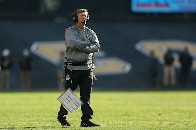 Mike MacIntyre signed an extension through 2021 in January. (Getty)