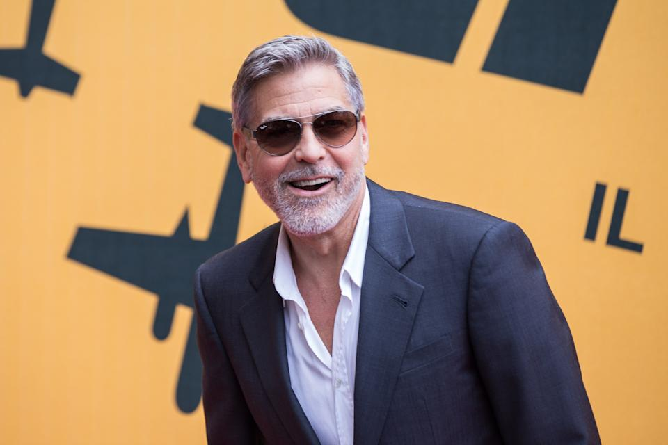 THE SPACE CINEMA MODERNO, ROME, RM, ITALY - 2019/05/13: George Clooney during the photocall in Rome for the press presentation of Catch-22, original Sky series produced, directed and interpreted by George Clooney. (Photo by Matteo Nardone/Pacific Press/LightRocket via Getty Images)