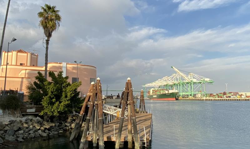 The Port of Los Angeles is the country's largest port by container volume and cargo value. Credit: Brian Cheung / Yahoo Finance