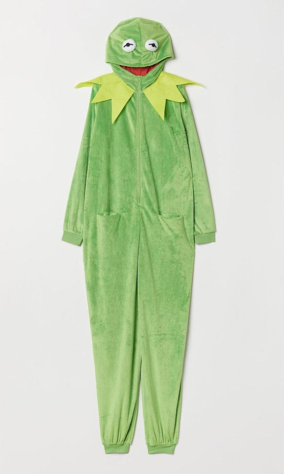 "<p>Kermit fancy dress costume, £29.99, H&M</p><p><a rel=""nofollow"" href=""https://www2.hm.com/en_gb/productpage.0672867001.html"">BUY NOW</a></p>"