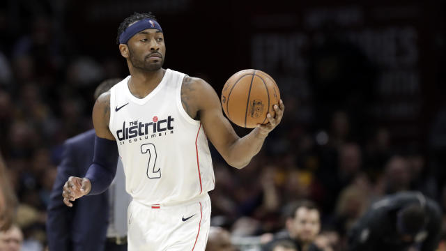 John Wall and the Wizards looked like two different teams on Thursday in Cleveland. (AP)