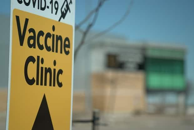The Paramount Fine Foods Centre COVID-19 vaccination clinic in Mississauga.  (Grant Linton/CBC - image credit)