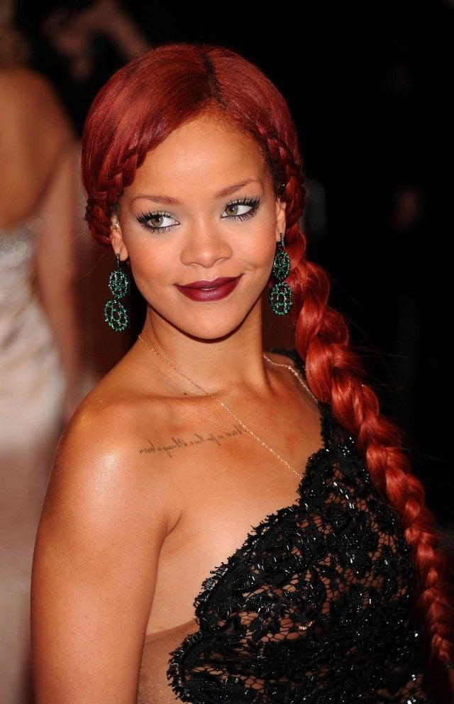 Rihanna at Met Gala 2011