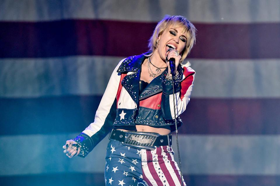 Miley Cyrus is also among the more than 94 scheduled performers.