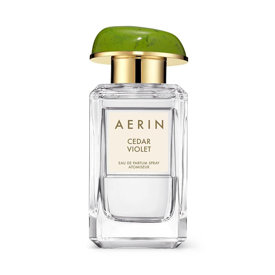 We can't all visit the Adirondacks in the fall, but we can all wear a fragrance inspired by it. Aerin elevates the experience of walking through a forest of golden leaves with Cedar Violet's top notes of violet leaf and muguet, heart notes of Virginian cedarwood and gardenia, and base notes of amber and sandalwood. If you long for that feeling when the seasons are clearly changing, this is the closest you'll get to capturing it in a perfume.