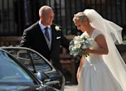 <p>Although they don't have titles, the couple are part of the Royal Family. (Ben Stansall/AFP via Getty Images)</p>